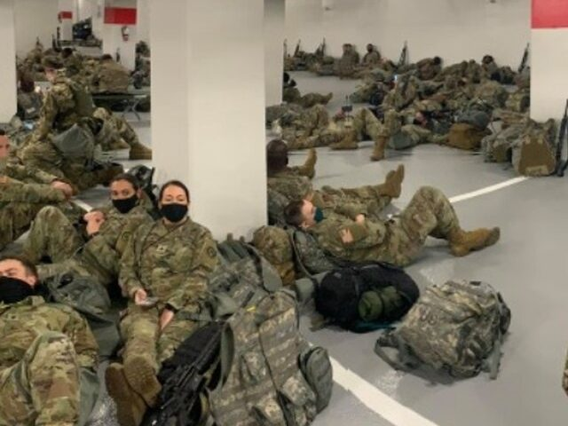 HEY JOE!: Geneva Conventions Forbid Forcing Soldiers to Sleep In Parking Garage