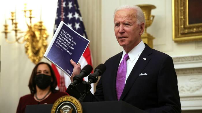 Joe Biden Predicts 500,000 Deaths from Coronavirus, Months to Turn Around Pandemic