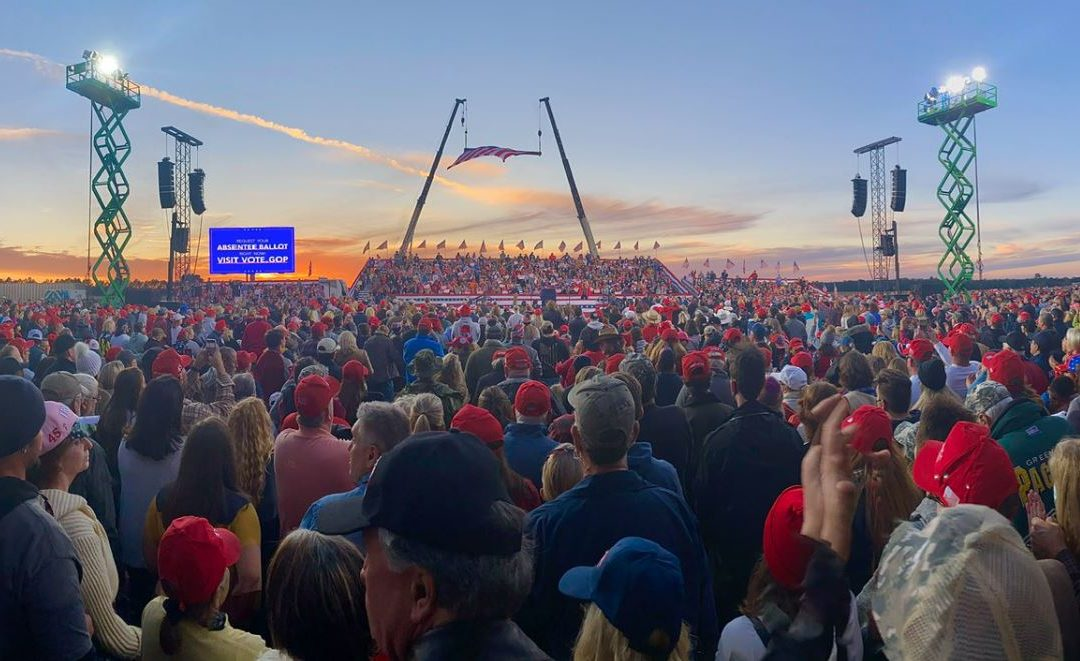 More Than 1.1 Million Attended President Trump's Rallies Since Labor Day – Not a Single Window Broken, Policeman Attacked or Attendee Killed