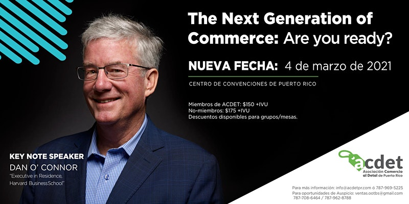 THE NEXT GENERATION OF COMMERCE: ARE YOU READY?