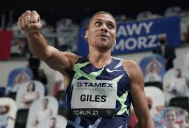 Giles pulls out of European Indoors to focus on Olympics
