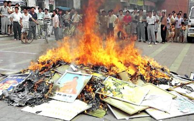 In War Against Faith, Chinese Regime Burns Religious Books, Jails Believers