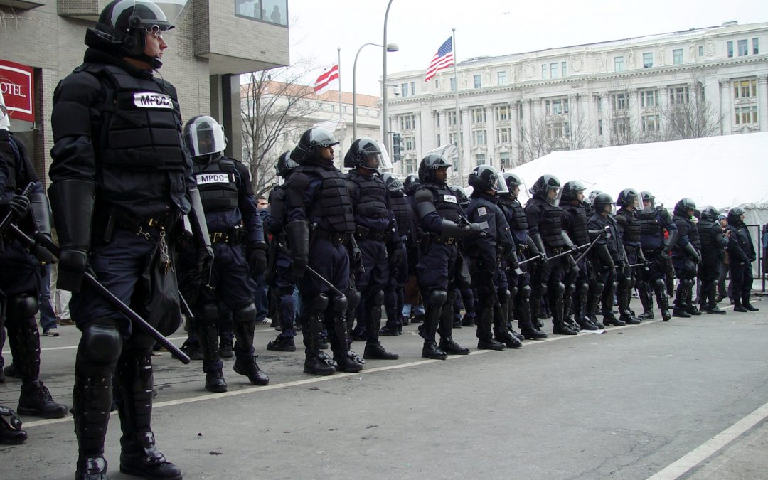 American police state: No questions allowed