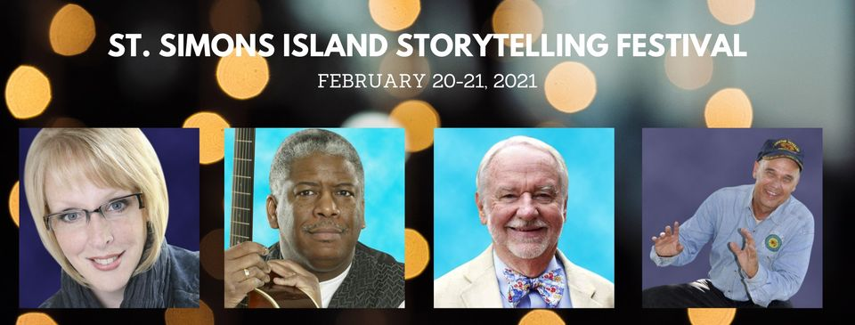 VIRTUAL St. Simons Island Storytelling Festival Epworth By The Sea February 20-21, 2021