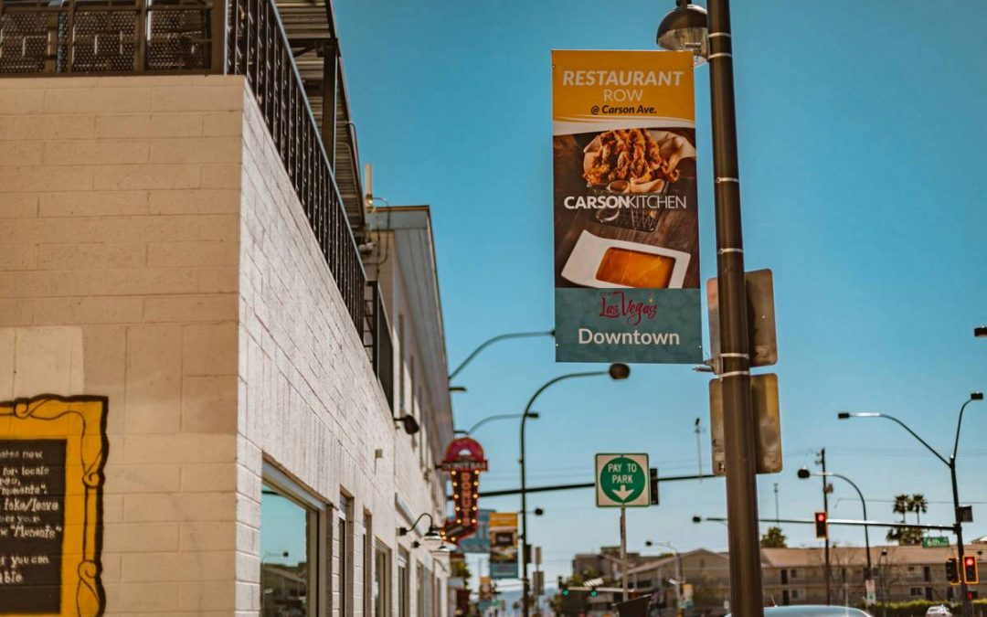 'Welcome to Restaurant Row:' Signs to highlight Las Vegas districts