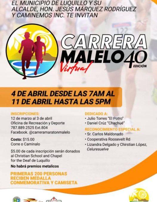 """LA CARRERA """"MARATÓN"""" MALELO VIRTUALera"""