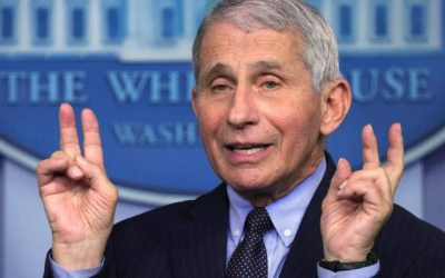 COVID-1984 FOREVER: Dr. Anthony Fauci: I Do Not Think We'll Be Back to Normal by March 2022