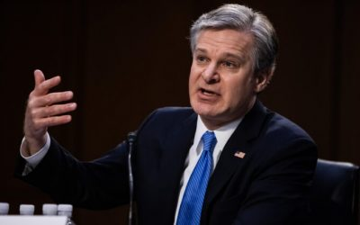 Wray Declines to Confirm FBI's Use of Geolocation Data to Track Capitol Rioters But Says It 'Would Not Surprise Me'