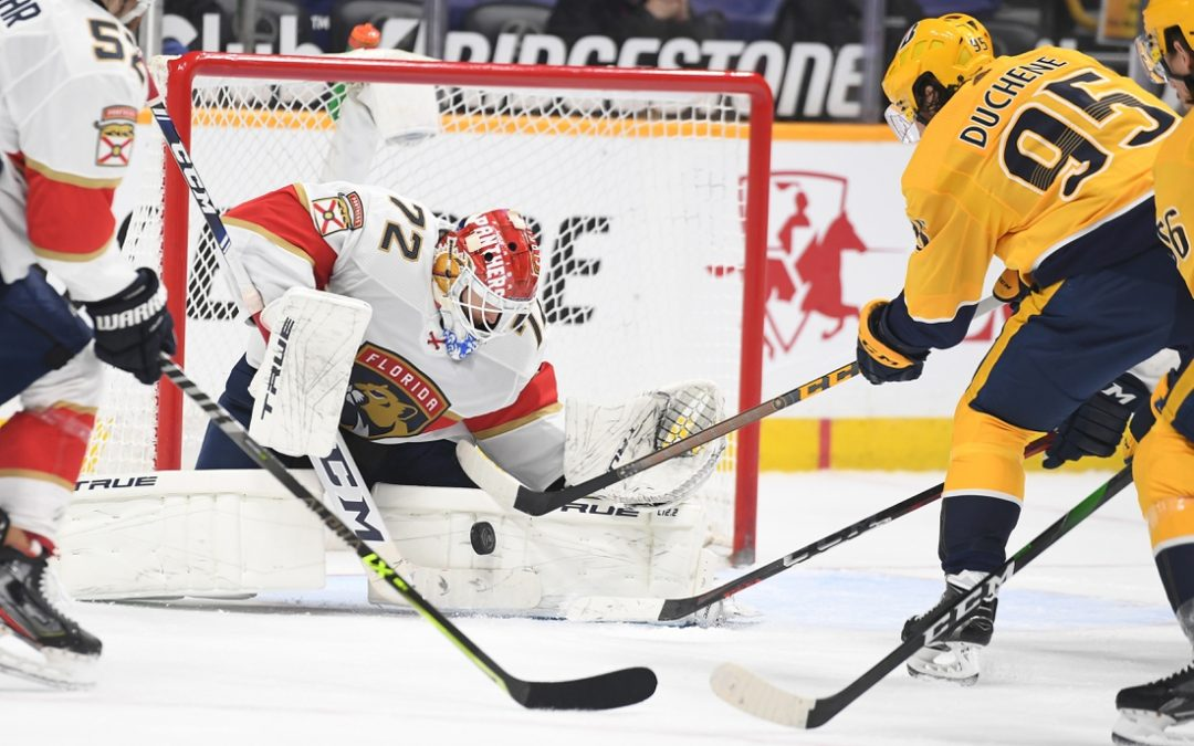 Panthers try to punch playoff ticket again at Predators