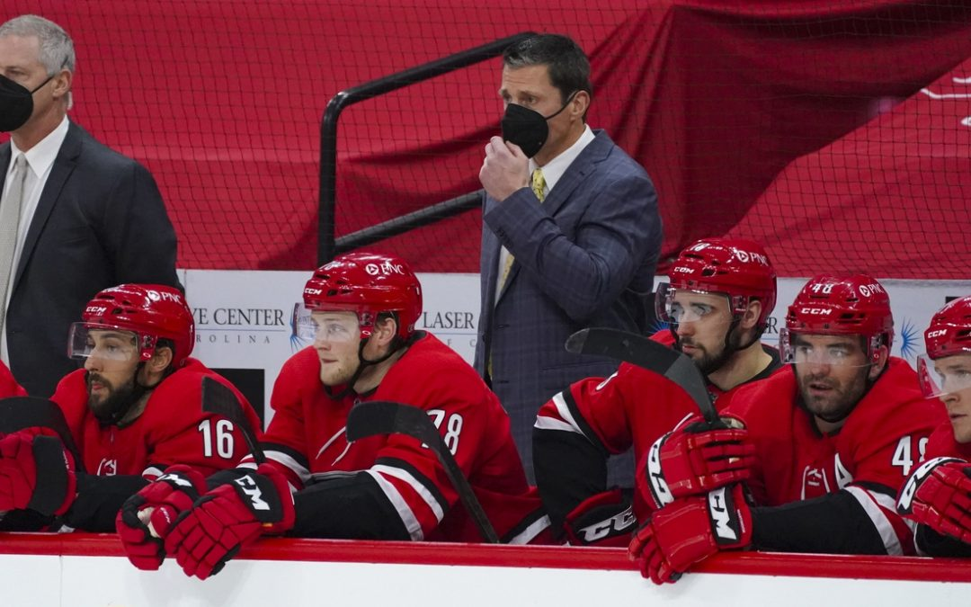 Hurricanes 'not done' vs. Stars after clinching playoff berth