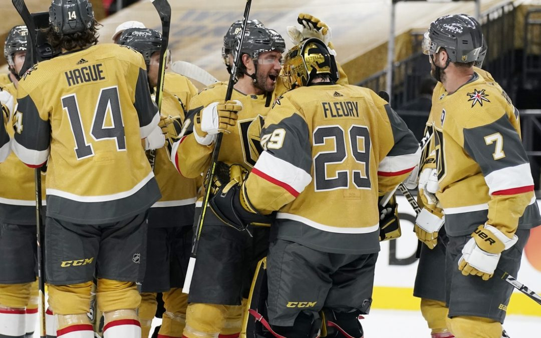 NHL roundup: Knights top Avs for 10th straight win