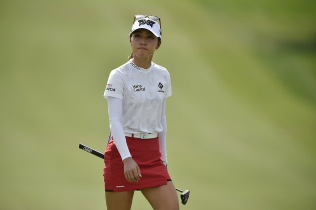 Lydia Ko charges to lead at Lotte Championship