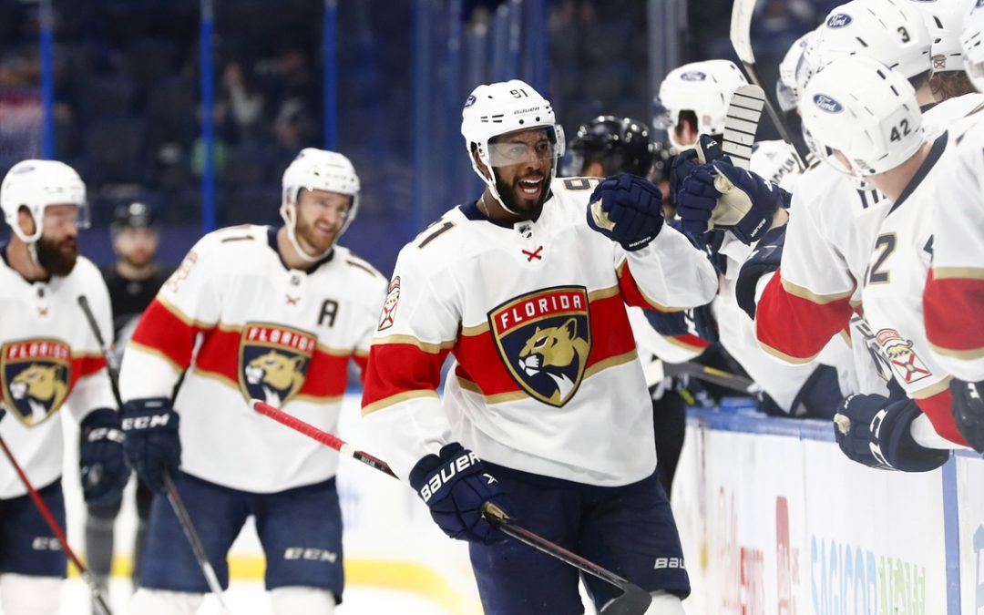 NHL roundup: Panthers come out on top of rival Lightning