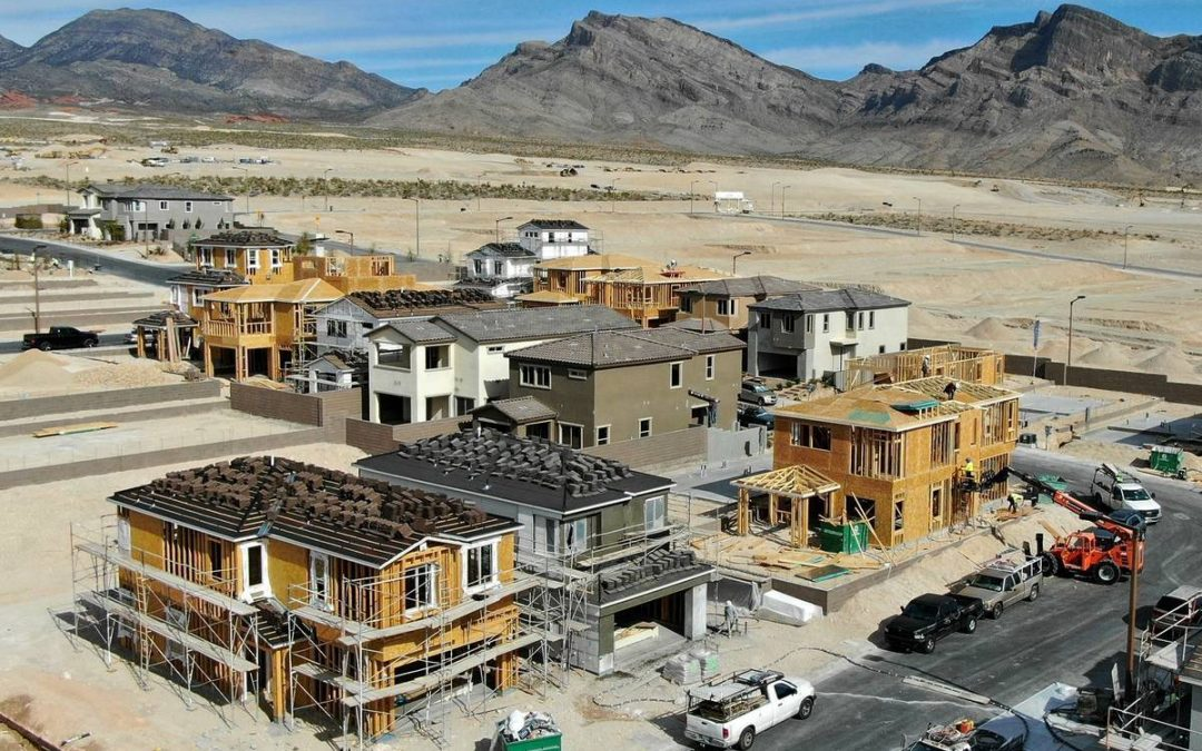 'It's a free-for-all': Las Vegas housing market on fire