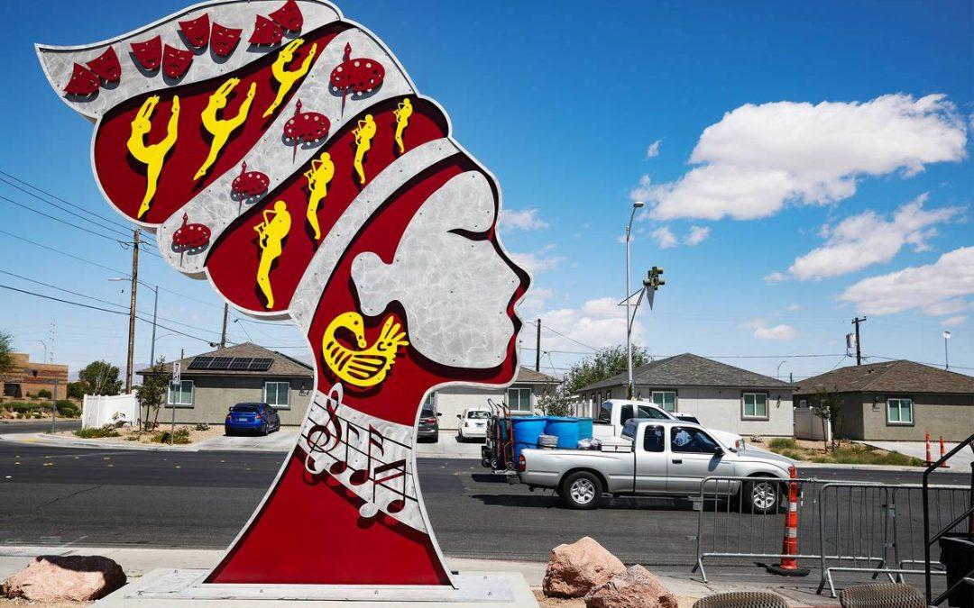 Long-awaited landmark sculptures unveiled in Historic Westside
