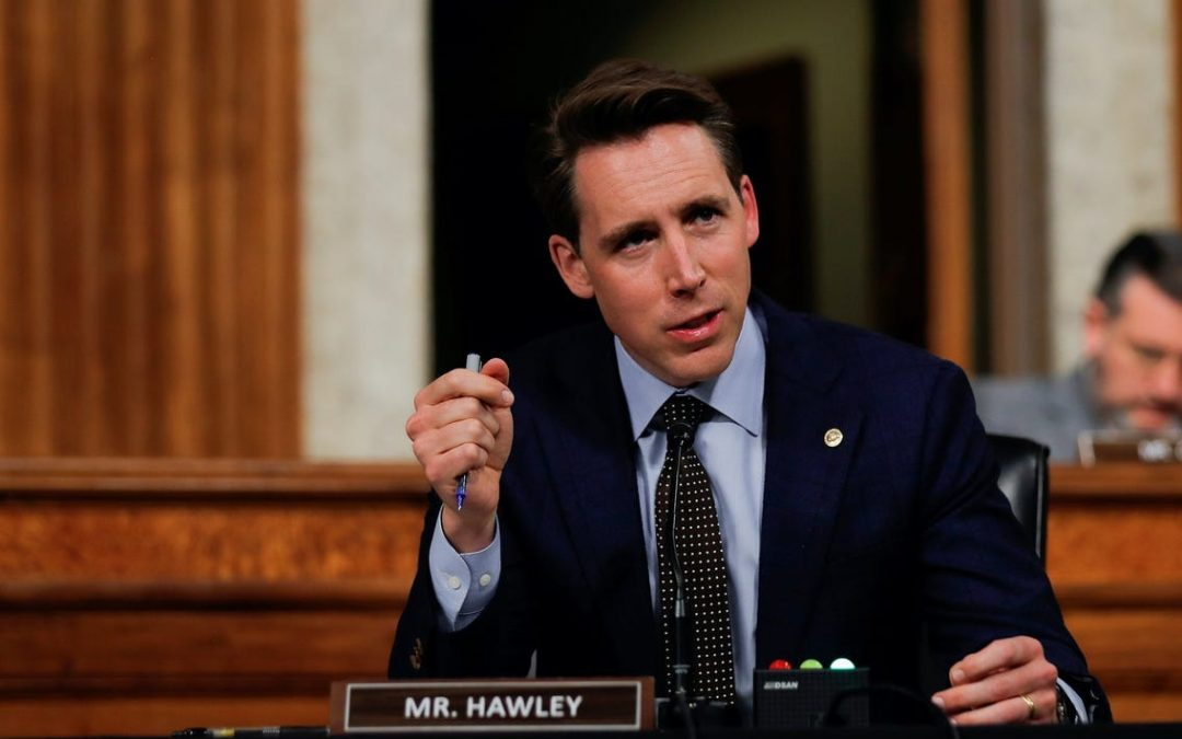 Sen. Hawley's Bill to Break-Up Big Corporations Praised and Panned on Right