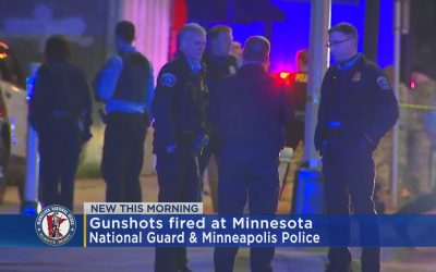 Report: Shots Fired at Minnesota National Guard Members in Minneapolis