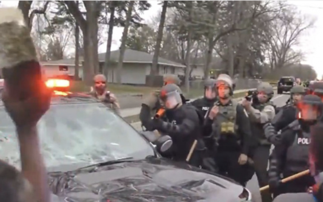 Man Who Minneapolis Area Police Shot, Provoking Riot, Had Warrant For Arrest, Was Fleeing Police