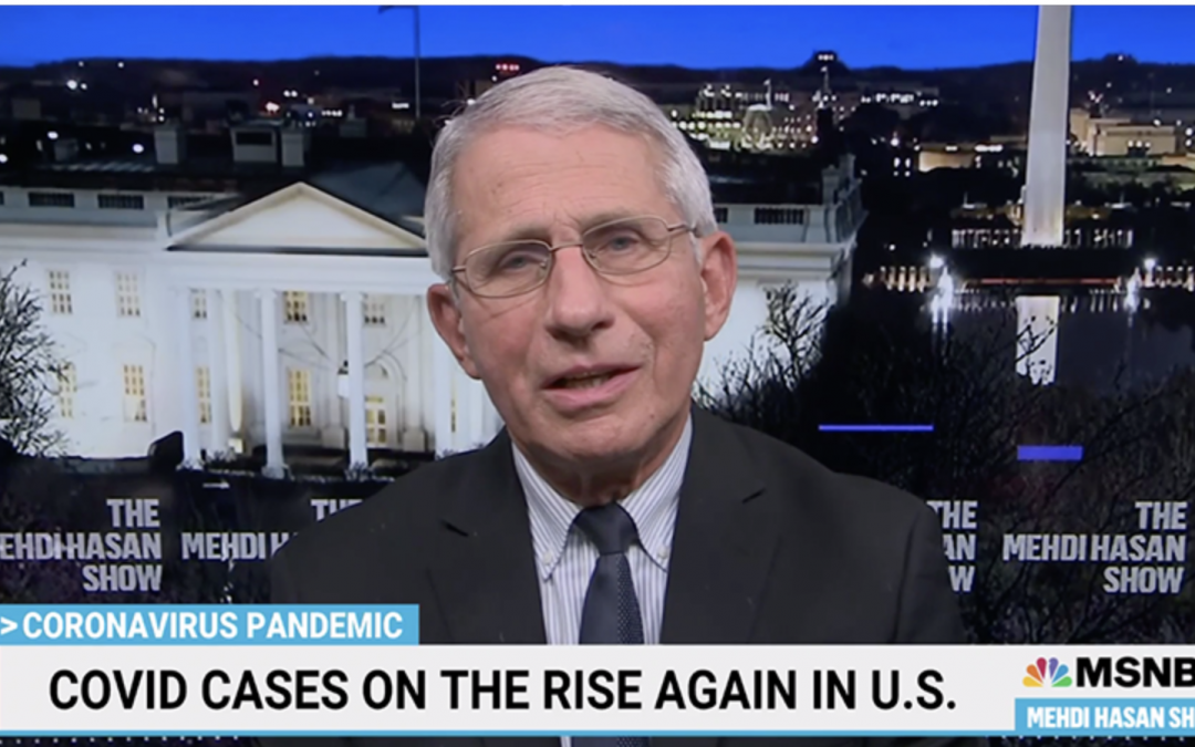 COVID-1984: Fauci: 'It's Still Not OK' to Eat or Drink Indoors Even if You're Vaccinated