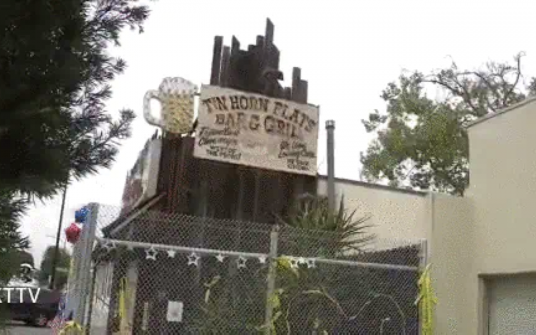 COVID-1984: California city erects fence outside COVID mandate-defying restaurant in Burbank