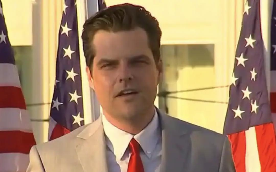Gaetz blasts CNN over story indicating Trump avoided Mar-a-Lago meeting