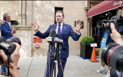 'DISGUSTING…ABSURD': Giuliani's son rips raid of father's NYC apartment as 'continued politicization' of DOJ