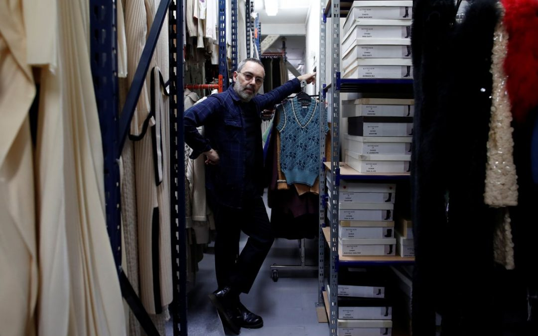 Olivier Chatenet lends modern twist to French vintage fashion sales