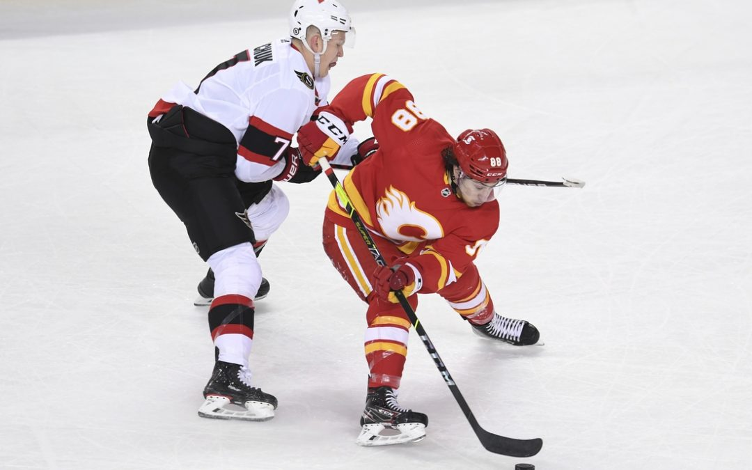 Flames remain in playoff hunt with win over Senators