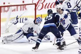 Top line in top form as Jets down Leafs