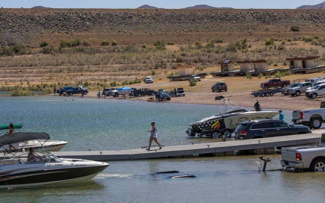 Declining water levels affecting 4 Lake Mead boat ramps