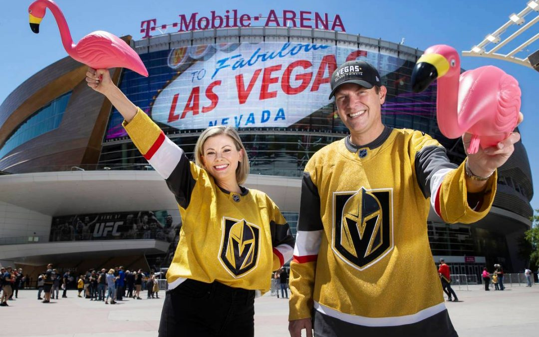 How the Golden Knights Victory Flamingo became a sensation