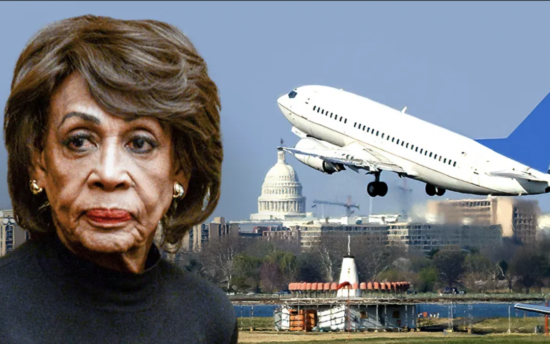 LIBERAL PRIVELEGE: Maxine Waters moved air marshal from 'high-risk' flight to her own for trip to Chauvin trial: complaint
