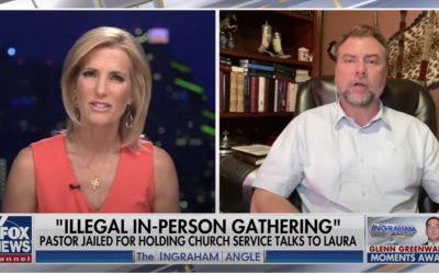 Persecuted Anti-Lockdown Pastor Warns 'Medical Tyranny' Is Already Here
