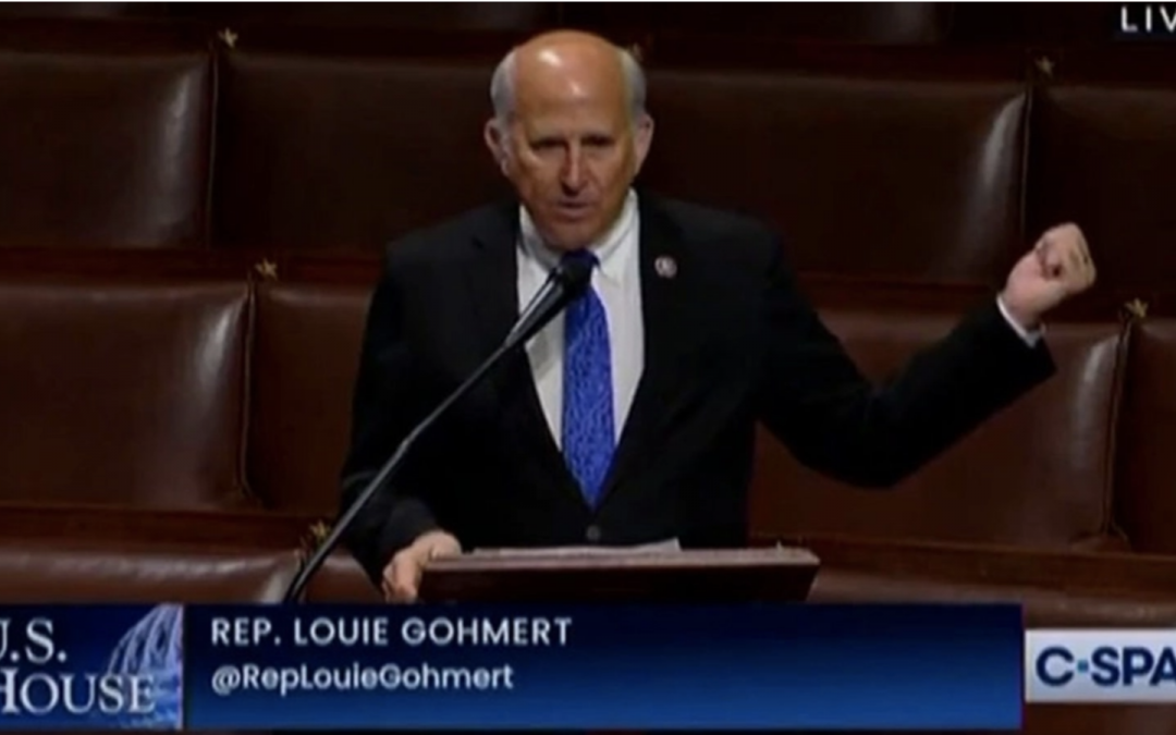 GOHMERT: Biden Needs To Realize There Have Been Worse Things Than Unarmed Election Protesters 'Coming Into a Building'