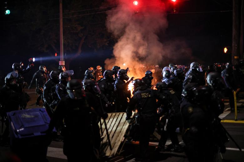 Portland Police Union President Says City Is 'On the Precipice of War'