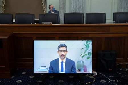 tagreuters.com2020binary_LYNXMPEG9R1RC-VIEWIMAGE 'Who the hell elected you?' U.S. Senate tech hearing becomes political showdown Business Featured Politics Top Stories [your]NEWS