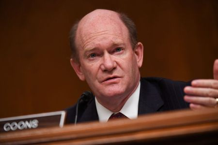 tagreuters.com2020binary_LYNXMPEGAJ1A1-VIEWIMAGE Coons says hopes for bipartisan U.S. policy to 'out-compete' China Politics [your]NEWS