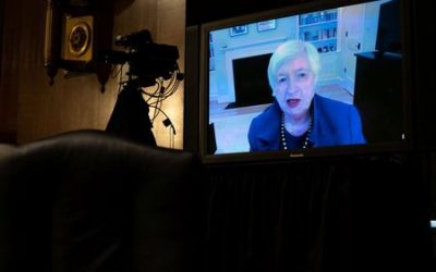'Act big' now to save economy, worry about debt later, Yellen says in Treasury testimony
