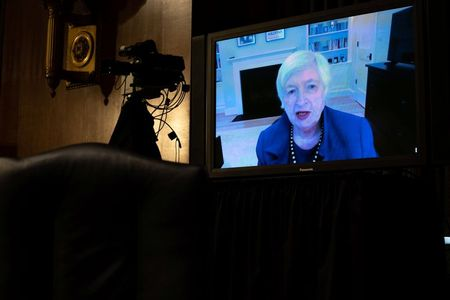 tagreuters.com2021binary_LYNXMPEH0I18D-VIEWIMAGE 'Act big' now to save economy, worry about debt later, Yellen says in Treasury testimony Business Politics Top Stories [your]NEWS