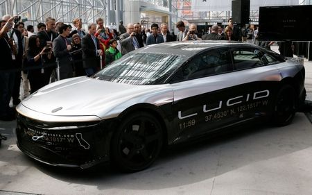 tagreuters.com2021binary_LYNXMPEH1L1HZ-VIEWIMAGE Tesla rival Lucid Motors to go public in $24-billion mega SPAC deal Business [your]NEWS