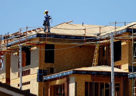 U.S. housing starts near 15-year high; consumer sentiment rises moderately
