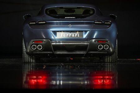 tagreuters.com2021binary_LYNXMPEH430KU-VIEWIMAGE Ferrari pushes back profit goal, but keeps electric pledge Business [your]NEWS