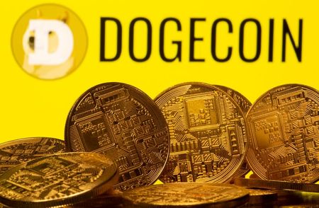 Musk tweets, dogecoin leaps and bitcoin retreats