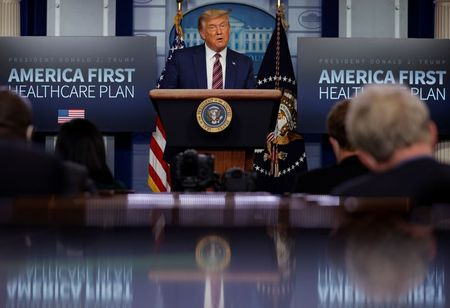 tagreuters.com2020binary_LYNXMPEGAJ1G4-VIEWIMAGE New Trump Medicare drug-price rules denounced as political revenge by industry Politics Top Stories [your]NEWS