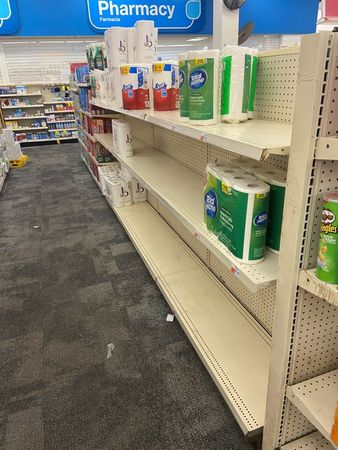 tagreuters.com2020binary_LYNXMPEGAJ1N8-VIEWIMAGE Panic buying of toilet paper hits U.S. stores again with new pandemic restrictions Top Stories U.S. [your]NEWS