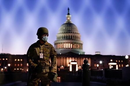 tagreuters.com2021binary_LYNXMPEH0C05D-VIEWIMAGE Some National Guard troops helping secure inauguration will be armed: officials Top Stories U.S. [your]NEWS