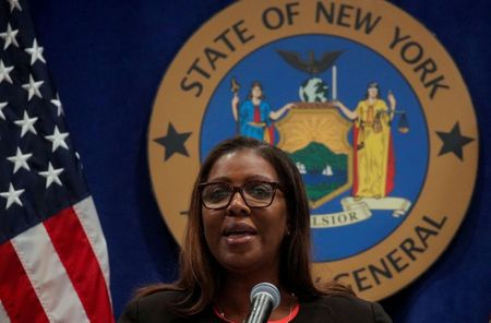 New York attorney general sues NYPD for excessive force against protesters