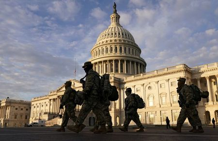 National Guardsman first known current service member to be charged over Capitol riot
