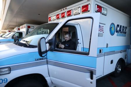 For Los Angeles-area ambulance crews, the COVID-19 calls never stop