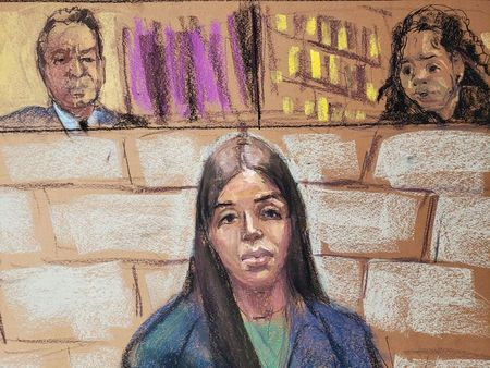 tagreuters.com2021binary_LYNXMPEH1M1I5-VIEWIMAGE Wife of Mexican drug kingpin 'El Chapo' held in jail on U.S. charges of helping him run cartel U.S. [your]NEWS